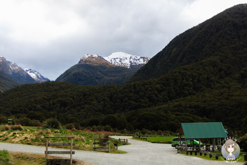 Cameron Flat DOC, Haas Pass, Neuseeland (1)