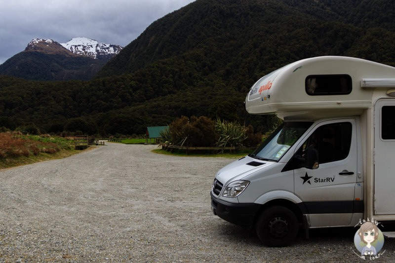Cameron Flat DOC, Haas Pass, Neuseeland (4)