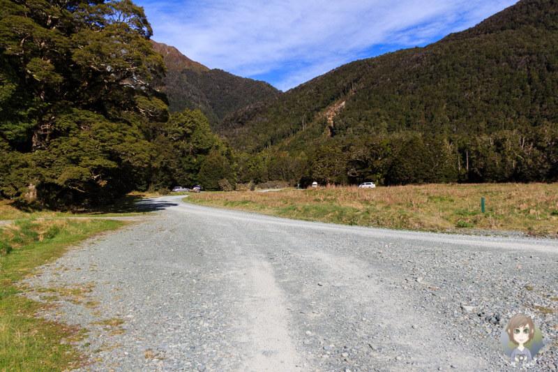 Camping im Fiordland Nationalpark, Cascade Creek DOC (2)