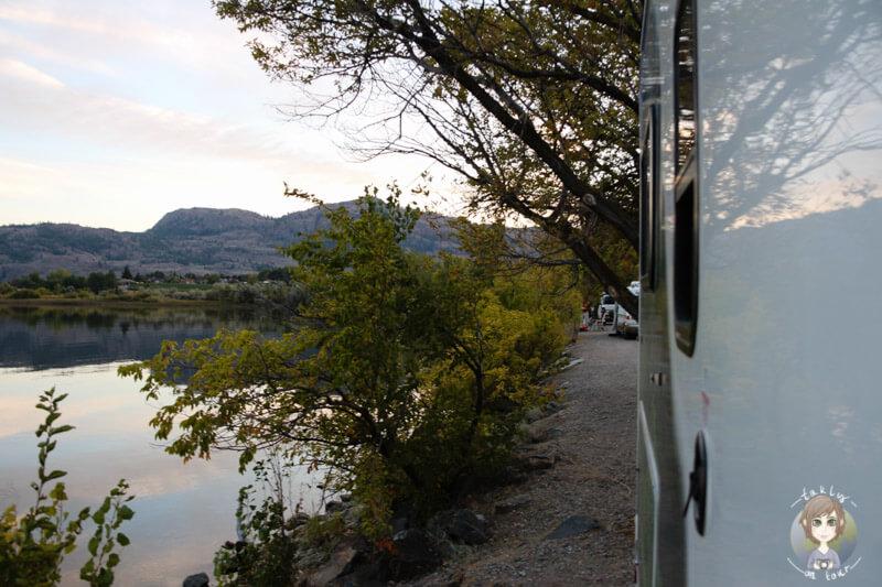 Camping im OkanaganVally