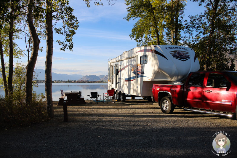 Camping am Osoyoos Lake