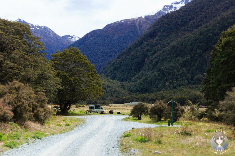 Cascade Creek Campingplatz, Fiordland Nationalpark (3)
