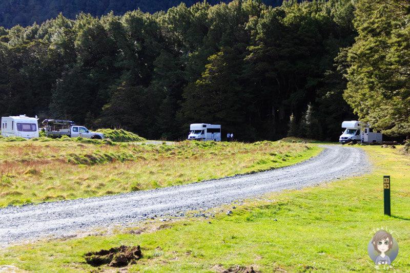 Cascade Creek DOC, Fiordland Nationalpark (1)
