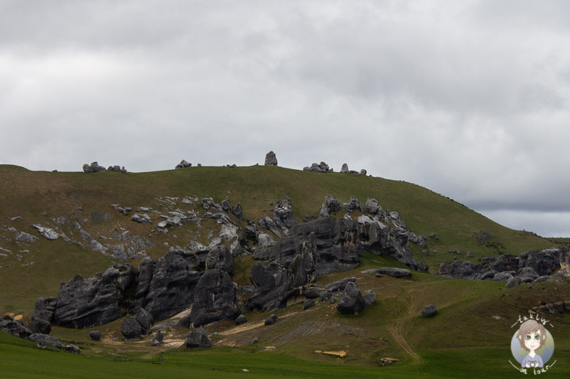 Castle Hill in Neuseeland