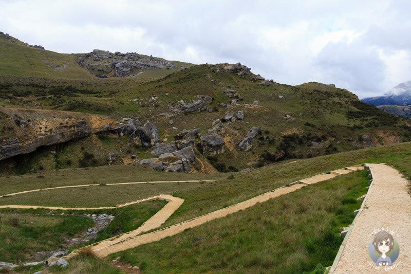 Wanderwege im Cave Stream Scenic Reserve, Neuseeland