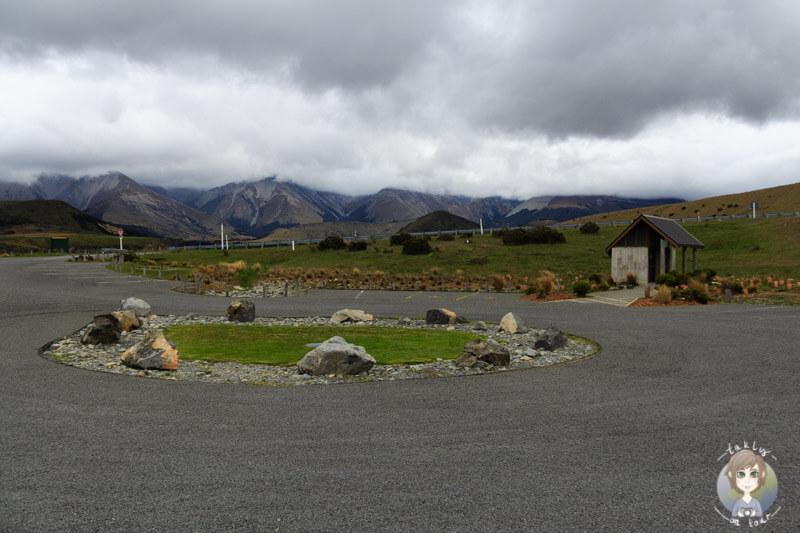 Parkplatz vom Cave Stream Scenic Reserve Nahe Castle Hill