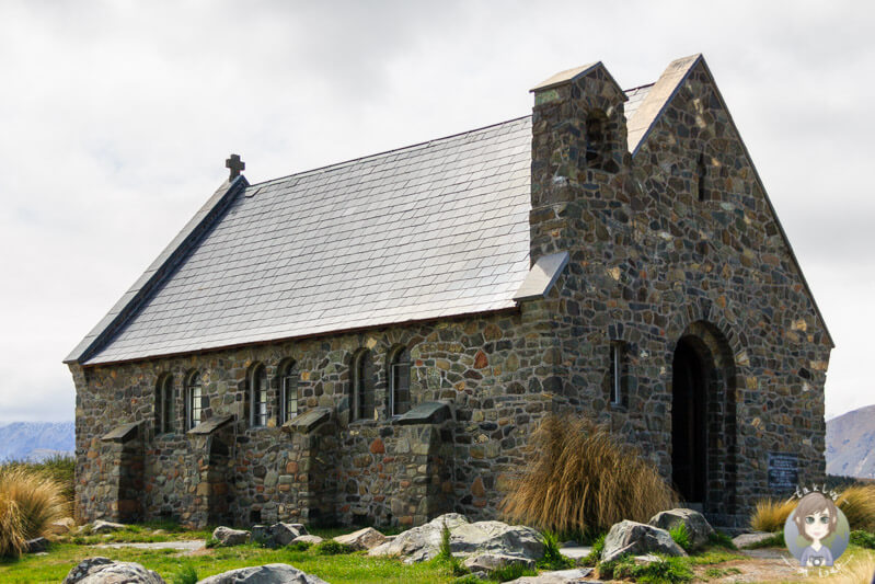 Church of the Good Shepherd in Tekapo Neuseeland