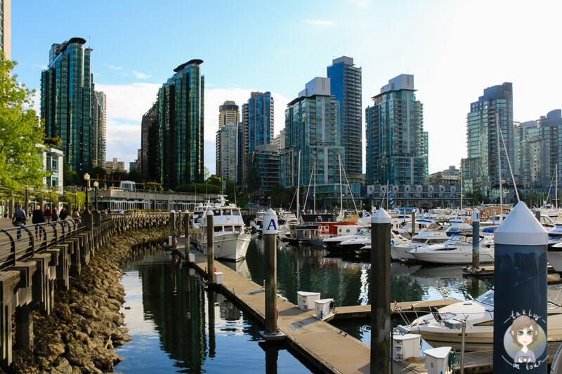 Coal Harbour in Vancouver Sehenswuerdigkeiten die sich lohnen