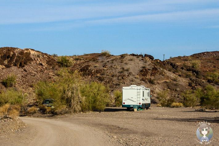 Craggy Wash Campground in Lake Havasu City