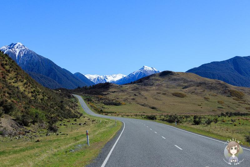 Die West Coast Road Richtung Arthur´s Pass