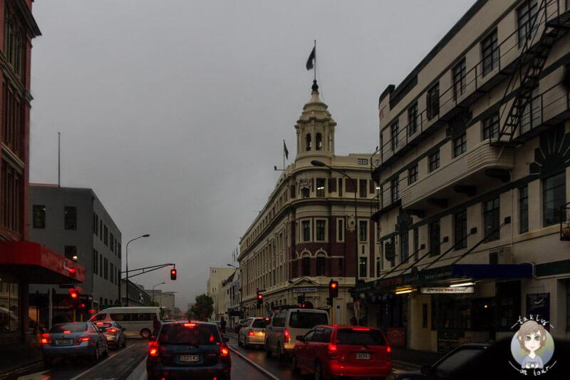 Dunedin im Regen