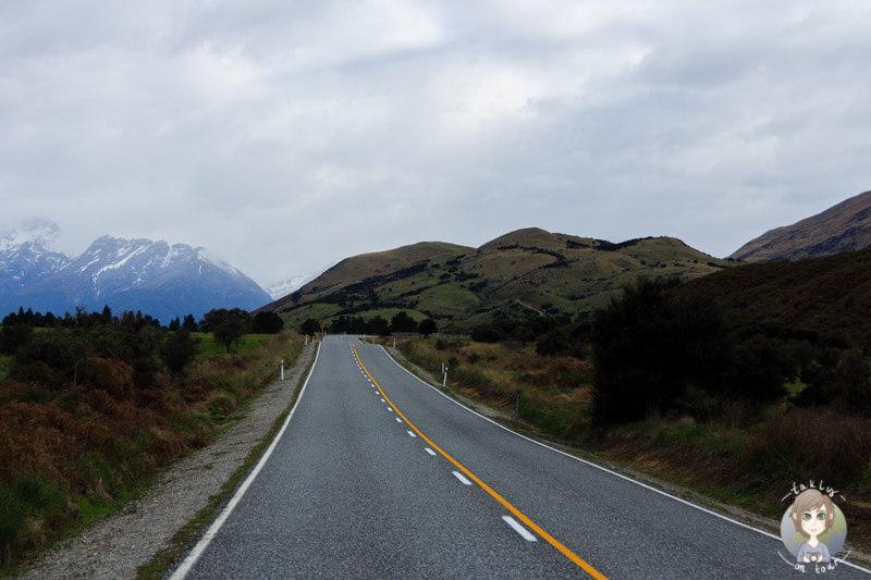 Fahrt nach Glenorchy
