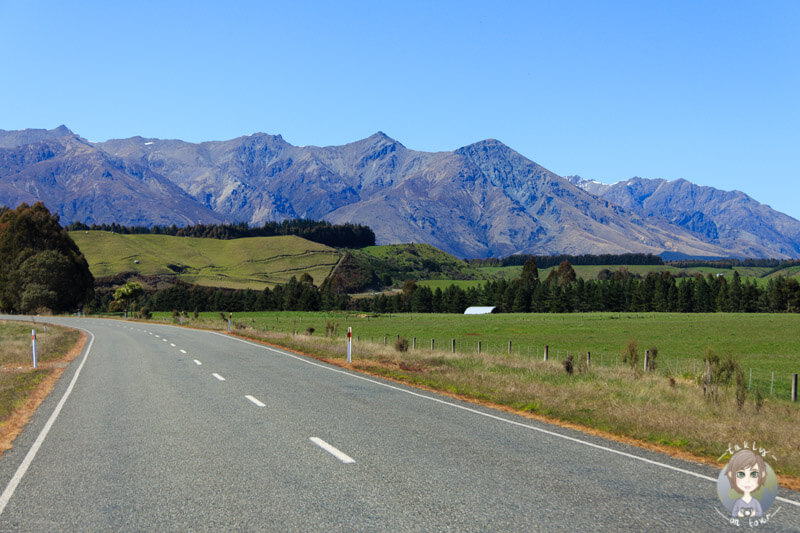 Fahrt durch Southland, Neuseeland (4)
