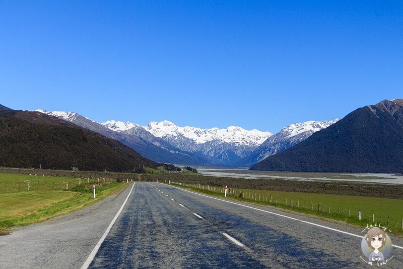 Die landschaftlich schönse West Coast Road