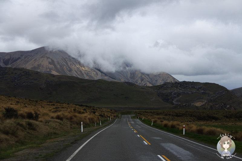 Fahrt über die West Coast Road in Neuseeland
