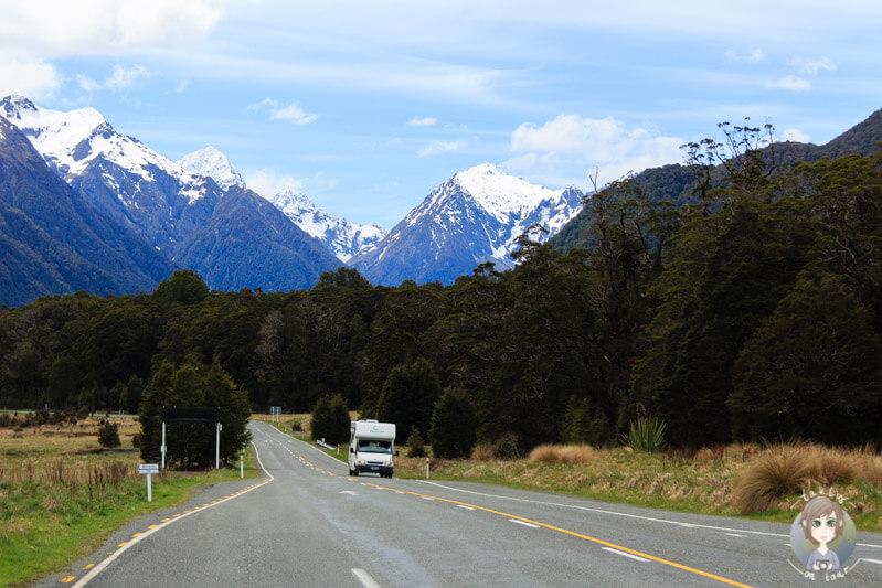 Fahrt zum Milford Sound