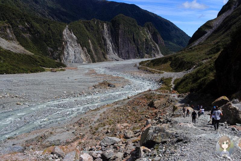 Wanderung am Fox Glacier