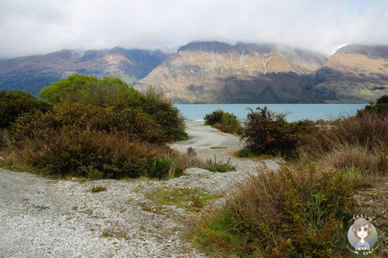 Freedom Campground 25 Mile Creek am Lake Wakatipu, Otago (3)