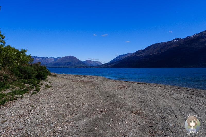 Freedom Campground 25 Mile Creek am Lake Wakatipu, Otago (4)