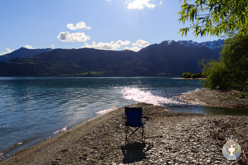 Relaxen am Lake Wakatipu