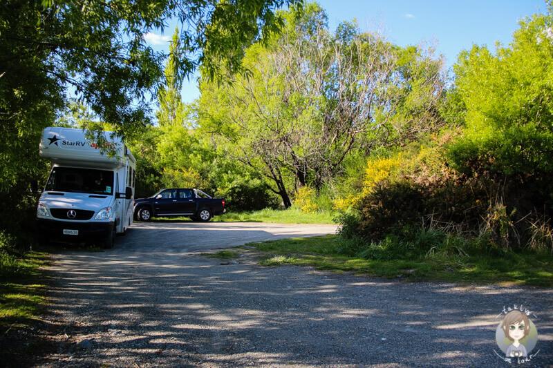 kostenlose Übernachtung am Lake Wakatipu nahe Queenstown