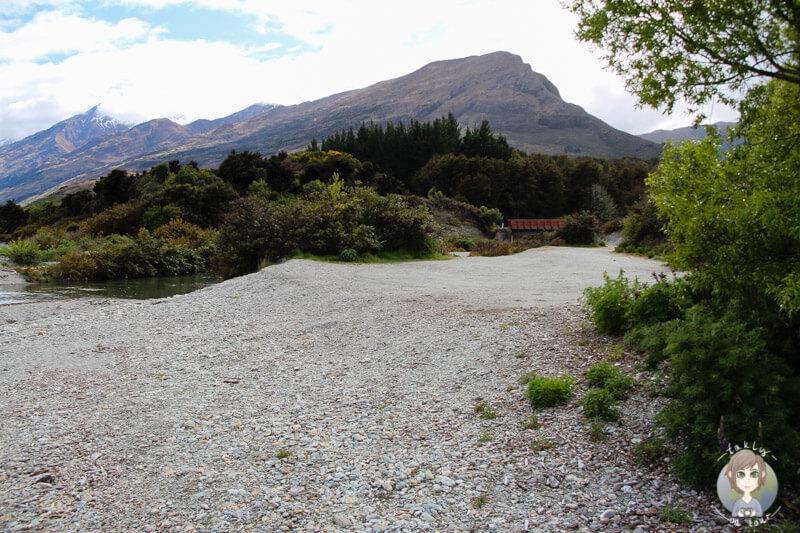 Freedom Camping am Lake Wakatipu, Neuseeland (2)