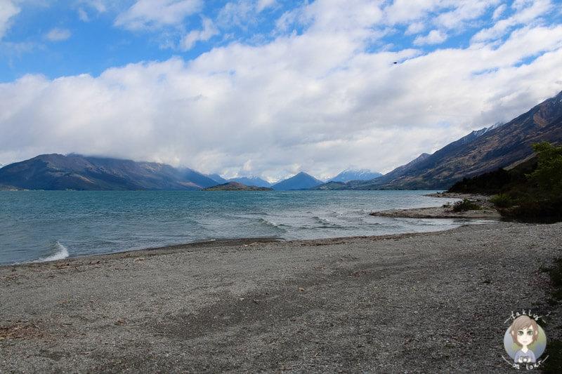 Freedom Camping am Lake Wakatipu, Neuseeland (3)