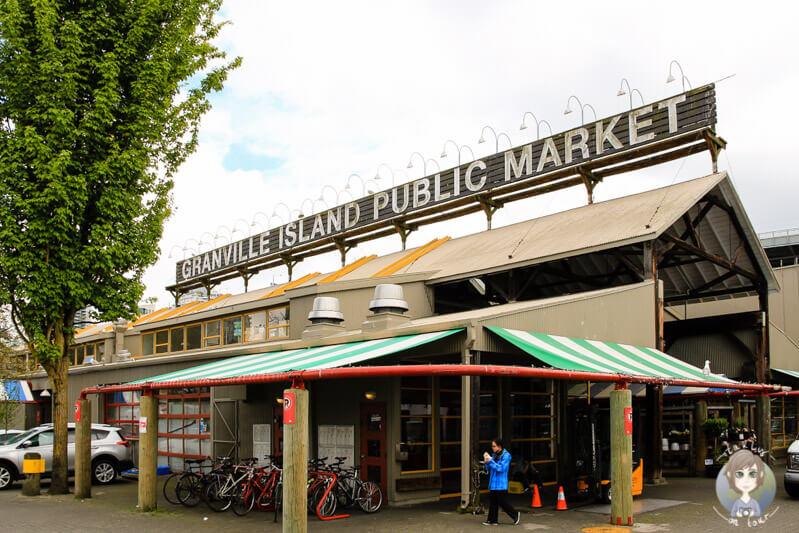 Public Market in Granville Island ist eine der Vancouver Sehenswuerdigkeiten der Stadt