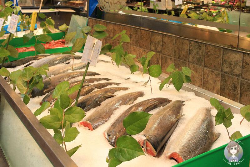 Fisch auf dem Public Market in Granville Island