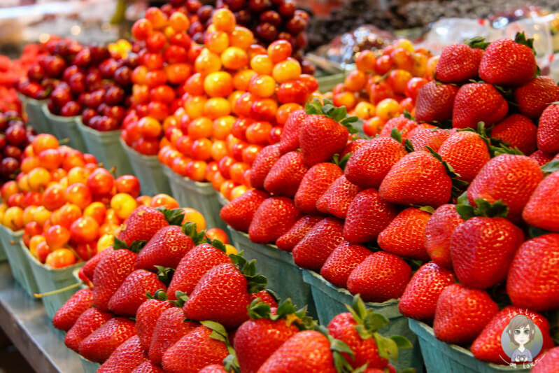 Obst auf dem Public Market in Granville Island