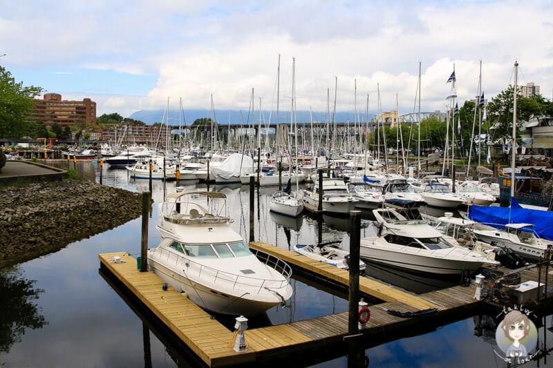 Hafen von Granville Island