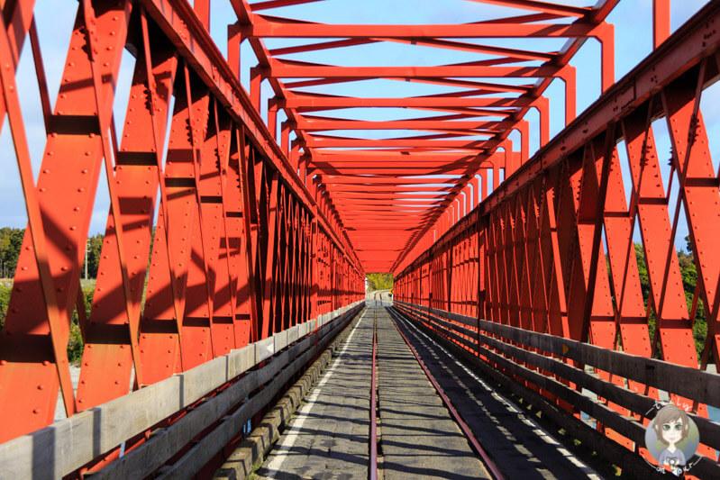 Brücke bei Greymouth, Neuseeland