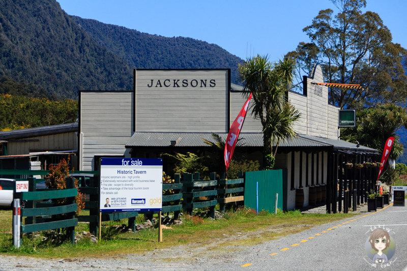 Jacksons, Neuseeland