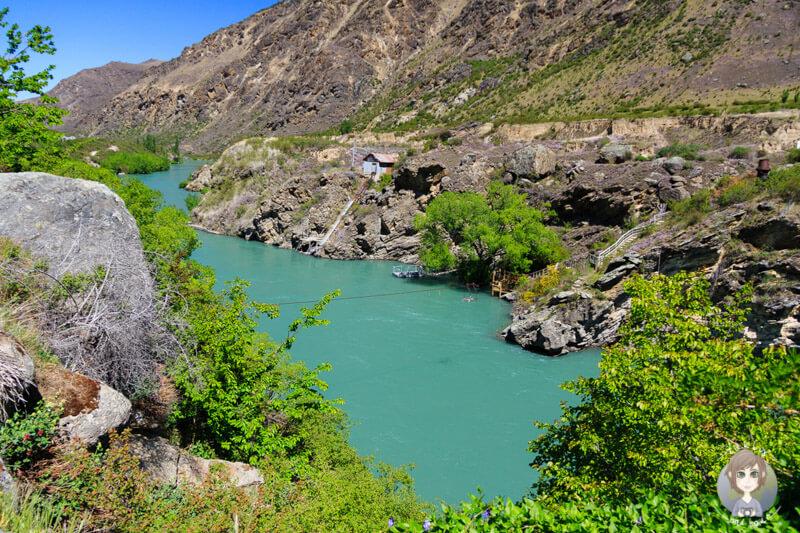 Blick auf den Kawarau River