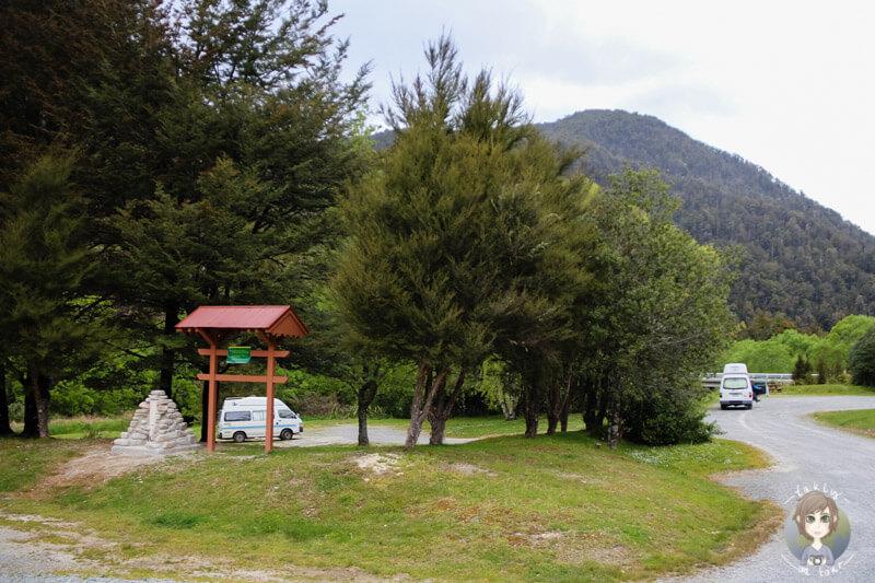 Kawatiri Campsite am Highway