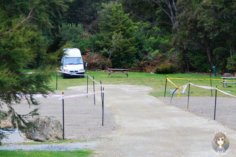 Kerr Bay DOC Campingplatz (2)