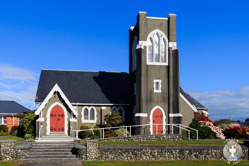Kirche an der West Coast von Neuseeland