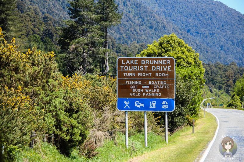 Lake Brunner Tourist Drive