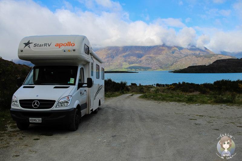 Lake Face Creek, Freedom Camping am Lake Wakatipu (2)