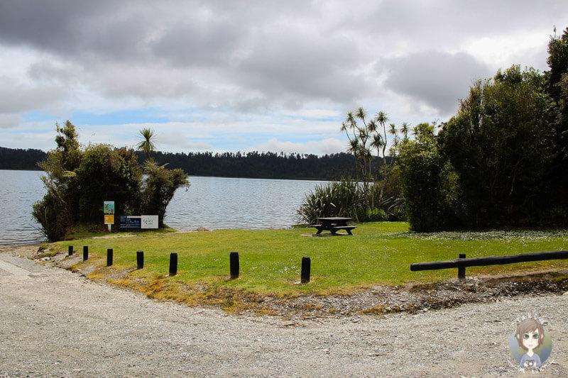 Lake Ianthe Campground, Neuseeland (1)