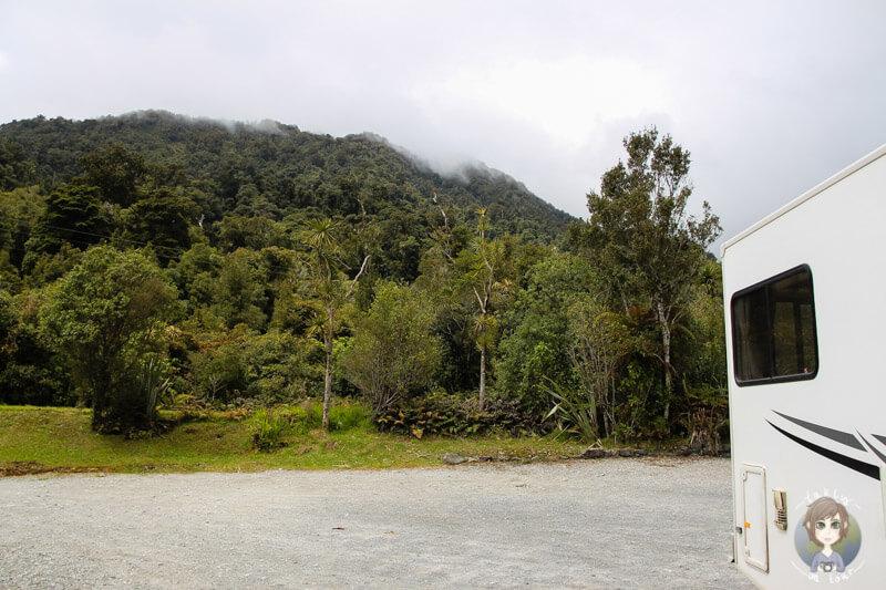 Lake Ianthe Campground, Neuseeland (2)