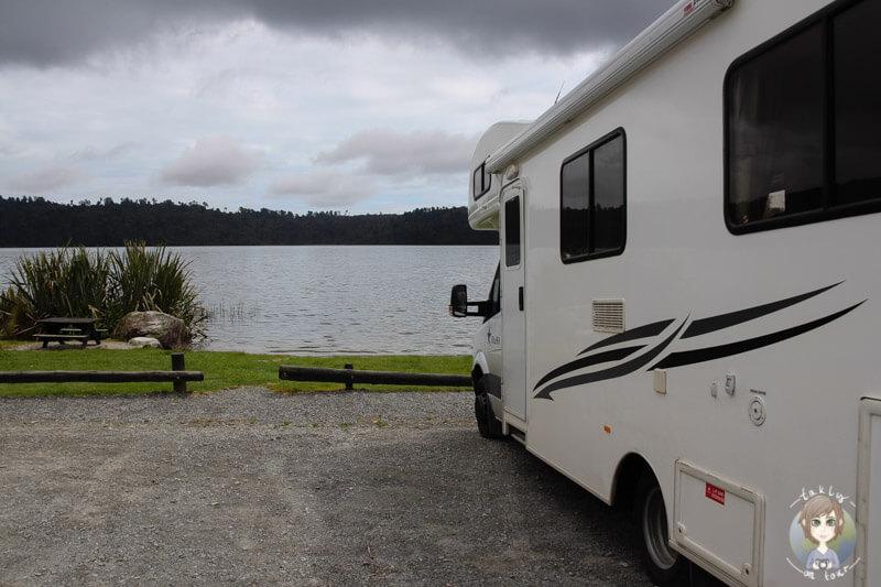 Lake Ianthe Camping, Neuseeland