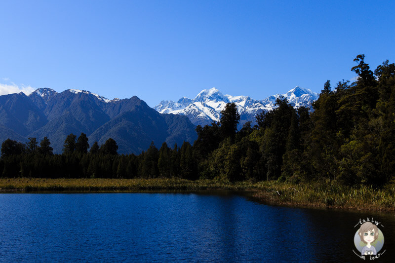 Lake Matheson und Mount Cook, West Coast Neuseeland