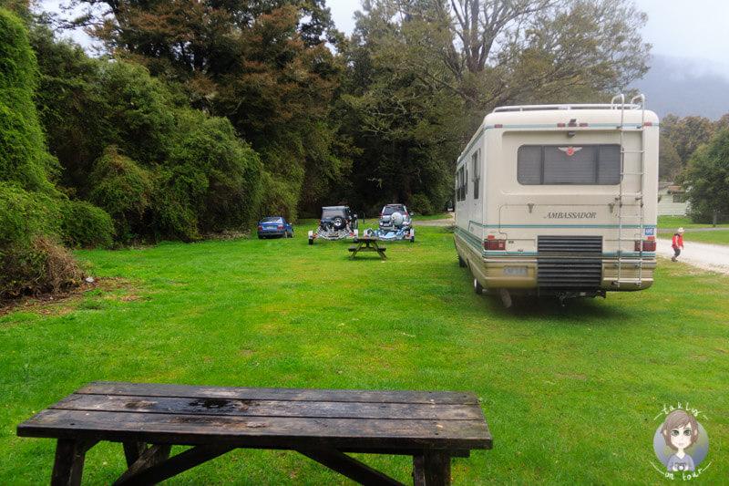Campingplatz am Lake Rotoroa DOC