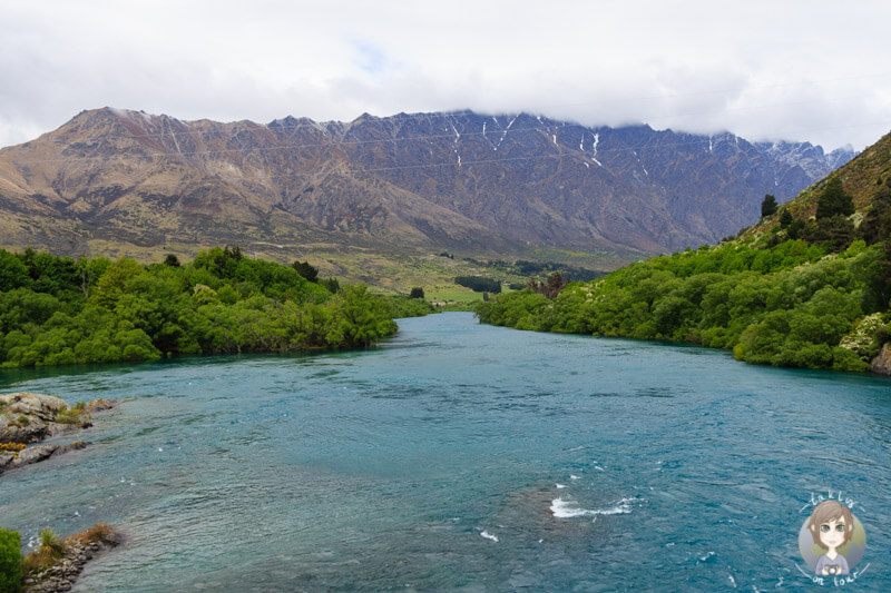 Kawarau River in Queenstown