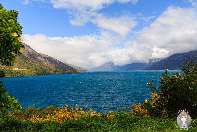 Lake Wakatipu, Richtung Kingston
