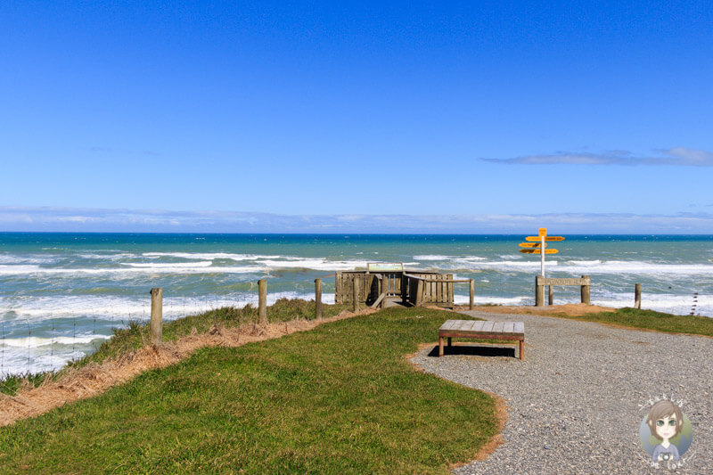 toller Aussichtspunkt im Süden von Neuseeland, der Mc Crackens Rest
