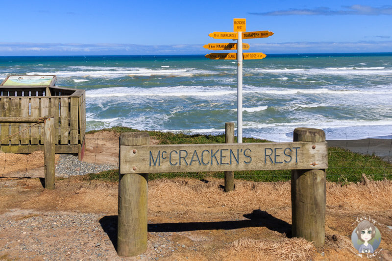 Mc Crackens Rest in Southland, Neuseeland
