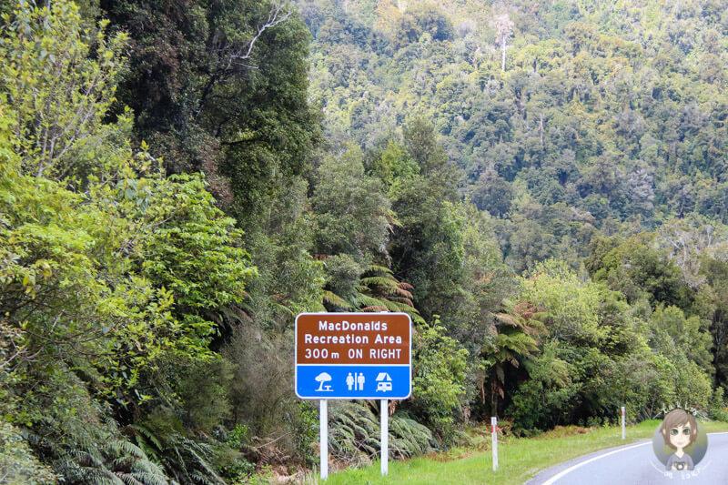 Mac Donalds Recreation Area, Neuseeland