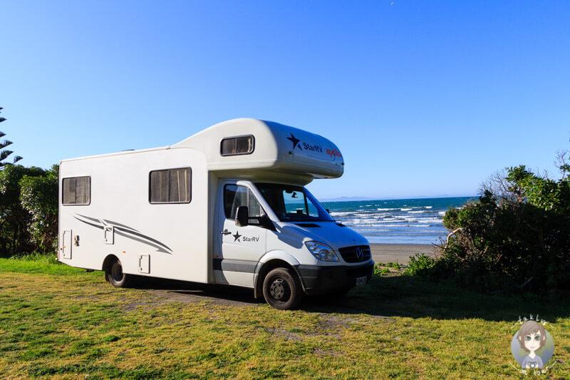 günstiges Camping am Marfells Beach